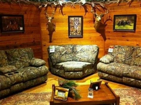 redneck home decor love the camouflage furniture guns and camo pinterest camouflage furniture and living rooms