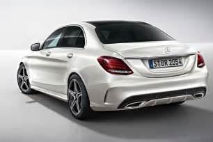 mercedes c class 2014 amg line pictures auto express