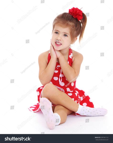 young little girls socks beautiful little girl sitting on the floor in socks and