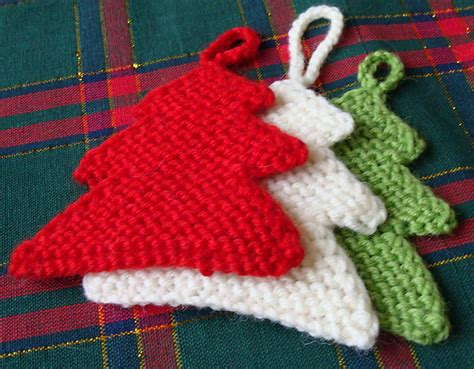 christmas craft ideas knitting christmas tree knitting