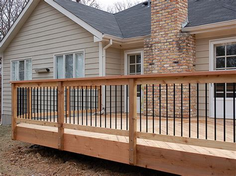 decking banister exterior cedar deck railing deck handrail composite wood wooden deck along