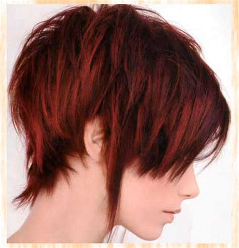 lots of layers fo short hair 24 really cute short red hairstyles styles weekly