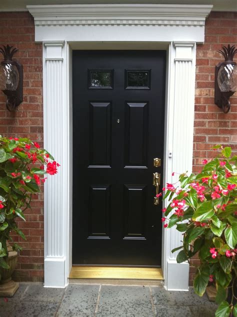 17 Best Ideas About Exterior Door Trim On Pinterest Front Door Molding Ideas