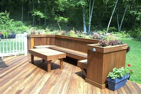 deck planter bench best 10 planter bench ideas on pinterest