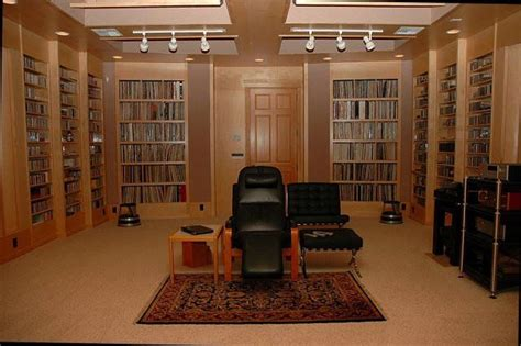 Listening Room by Audiophile Listening Room Studio Design Gallery