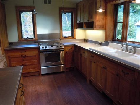 reclaimed wormy chestnut cabinets