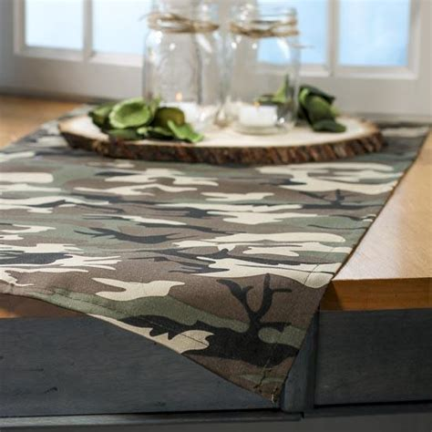 Camo Table Runners by Camouflage Table Runner Tableware Supplies Special Occasions