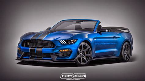 shelby gt350r mustang convertible rendered the odds of