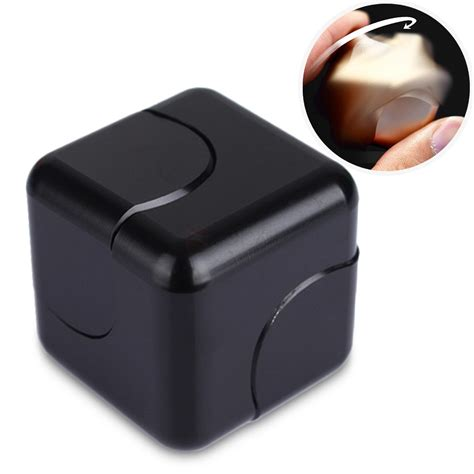 New Fidget Cube Fidget Spinner Cube Spinning Gyro aluminum fidget dice spinner magic cube stress relief for adults adhd