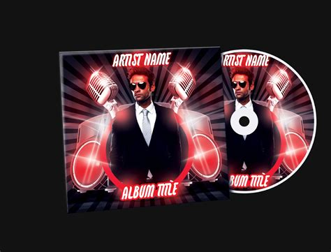 cd cover template psd mixtape cd cover free psd template by klarensm on