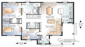 3 bedroom open floor plan 3 bedroom house plans with two