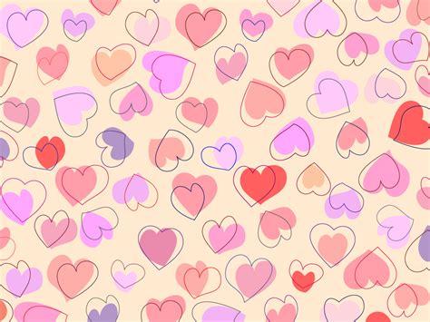 background design heart cute heart background vector vectorfans