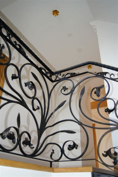 decorative banisters decoartive wrought railing 5 kp steelcraft
