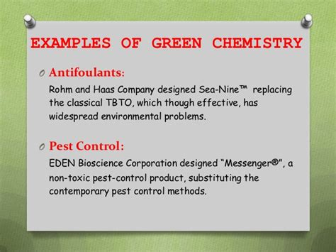 Goinggreen Mba Polymers by Green Chemistry The Chemical Industries Way To Go Green