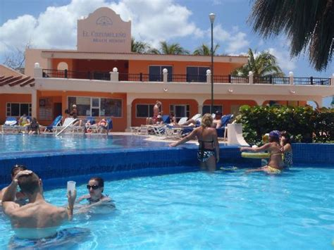 el cozumeleno resort map pool picture of el cozumeleno resort cozumel