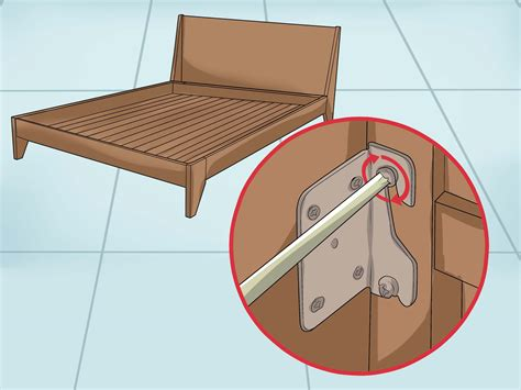 Bed Frame Squeaking How To Fix A Squeaking Bed Frame Wikihow