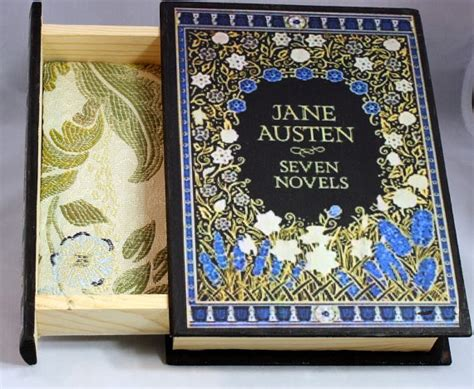 7 Reasons I Austens Novels by Austen Seven Novels Book Jewelry Box Book Jewelry By Kits