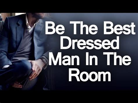 Being the best dressed man