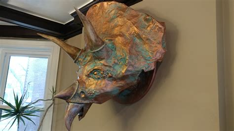 How To Make A Paper Mache Dinosaur Sculpture - alchemy how to make a paper mache dinosaur justin