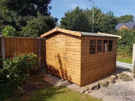 sectional garden buildings 10 x 8 apex garden shed smiths sectional buildings
