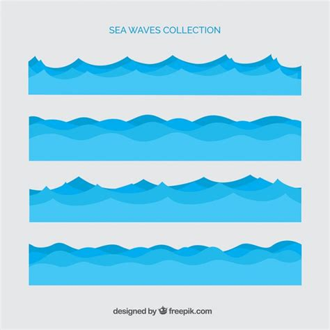 illustrator tutorial ocean waves different sea waves vector free download