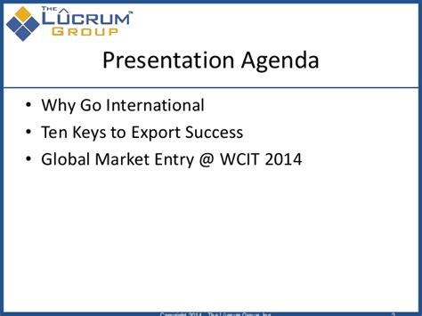 How To Achieve Maximum Success With Services 2 by How To Achieve Business Success At Wcit 2014 Ten To