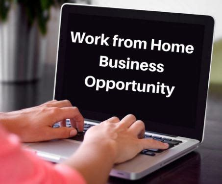 Work From Home Online Business - online business opportunity sharing the no 1 legitmate business