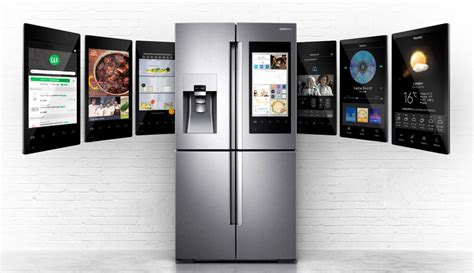 samsung smart home technology samsung s smart fridge wants to control your connected home trusted reviews