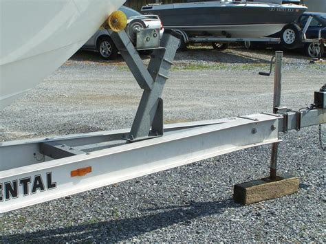 boat trailer bow roller trailer bow stop or bow roller