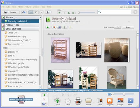 free program picasa photo editing free software downloads