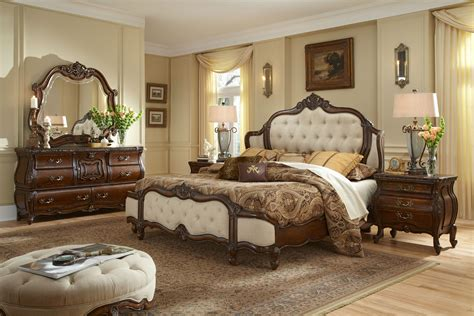mansion bedroom furniture buy lavelle melange bedroom set by aico from www