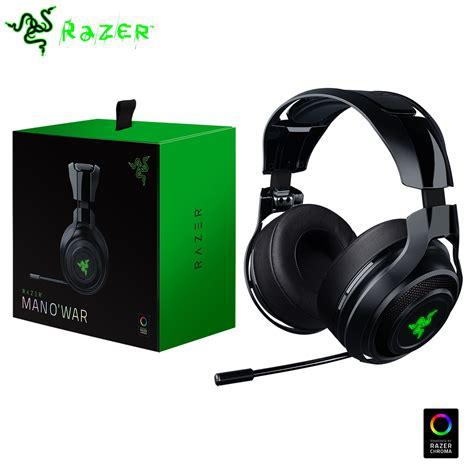 Razer O War 7 1 Green Surround Gaming razer mano war 2016 wireless 7 1 surround sound gaming