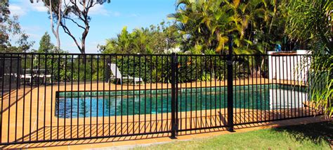 swimming pool fence ideas swimming pool fencing options for you to consider ideas 4 homes