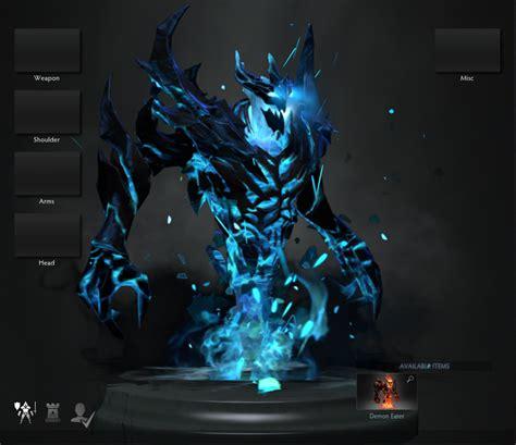 wallpaper dota 2 reborn blue shadow fiend reborn