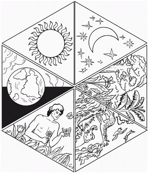 imagenes biblicas de la creacion imagenes cristianas para colorear dibujos para colorear