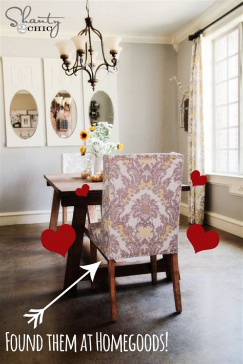 home goods dining room chairs diy restoration hardware dining table shanty 2 chic