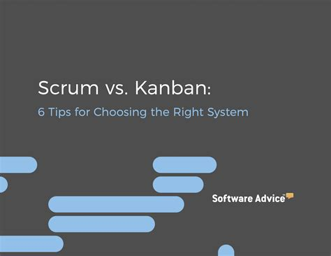 a guide for choosing whether guide to kanban vs scrum 6 tips to pick the right system