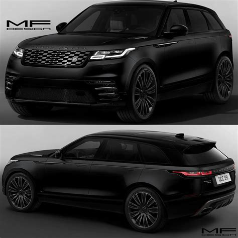 range rover back range rover velar black most wanted rides