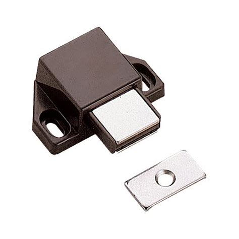 shop sugatsune brown magnetic cabinet latch at lowes