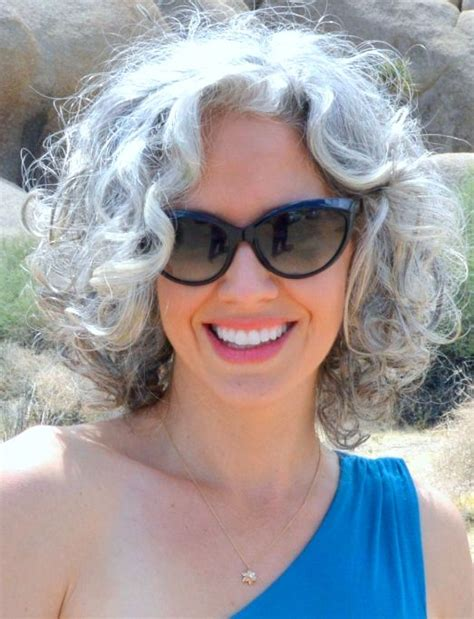 best 25 curly gray hair ideas on pinterest why grey curly gray hairstyles