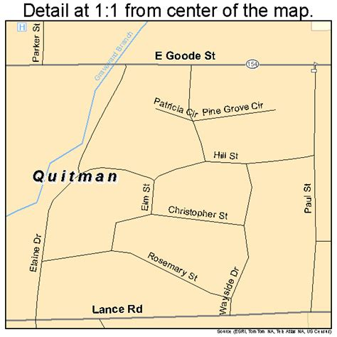 quitman texas map quitman texas map 4860188