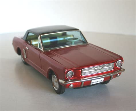 60 ford mustang bandai 60 s ford mustang battery operated 11 inches 28 cm