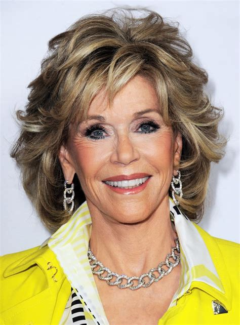 are jane fonda hairstyles wigs or her own hair jane fonda medium wavy layered synthetic capless wig 12