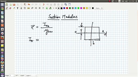 section modulus of a rectangle section modulus for rectangular c s beams youtube