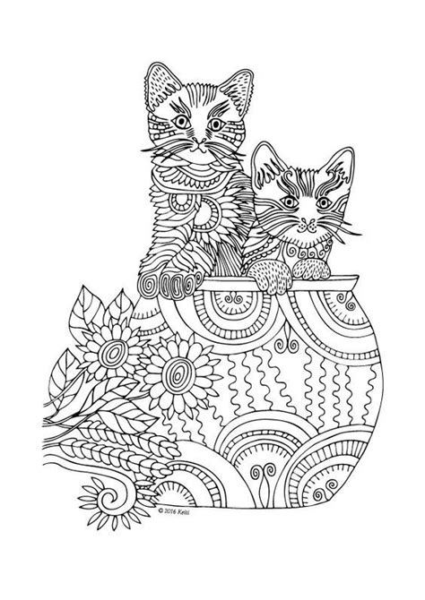 Pin by Tammy Strickler on coloring   Cat coloring page