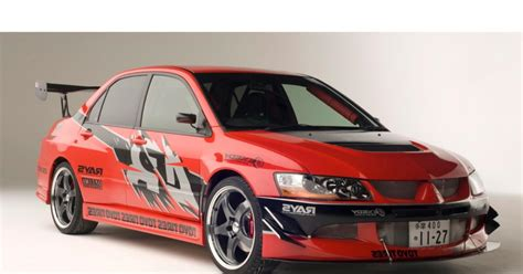 Mitsubishi Evo From Tokyo Drift The Fast And The Furious Tokyo Drift 2006 Mitsubishi