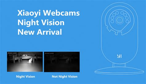 Xiaomi Xiaoyi Smart Cctv With Nightvision Black xiaomi xiaoyi smart wifi cctv cams 720hd vision recorder 11street my