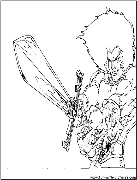 More Cartoonnetwork Coloring Pages Free Printable Thundercats Coloring Pages
