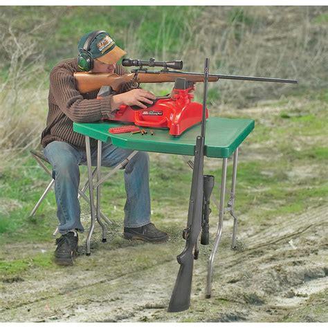 shooting bench reviews mtm 174 predator shooting table 92774 shooting rests at