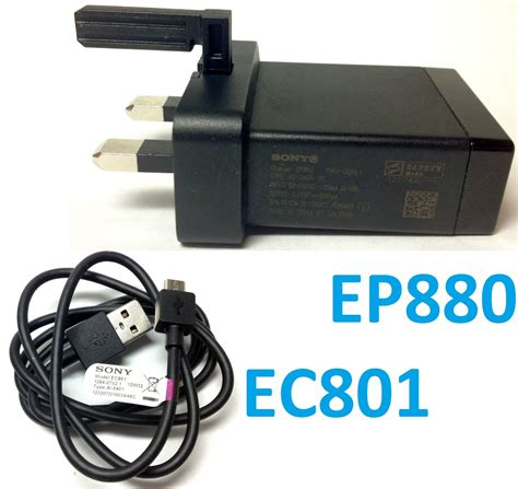 Charger Sony Experia Ep880 Fast Charger original sony ep880 usb charger uk ec801